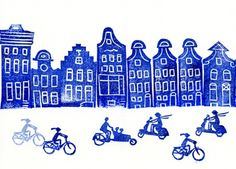a Stamp a Day: amsterdam