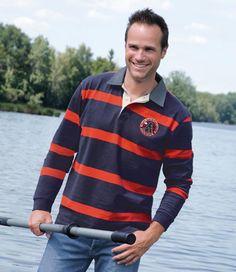 """sportliches und modernes Poloshirt """"Hydravion"""": http://www.atlasformen.de/products/neue-kollektionen/indian-summer-in-kanada/poloshirt-hydravion/46988.aspx"""