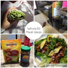 Whole30 Meal/Snack Ideas