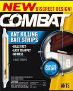 Combat Roach Killing Bait Strips for Large and Small Roaches - Garden Insects, Garden Pests, Bug Trap, Ant Problem, Ants In House, Pest Control Services, E Bay, Bait, How To Apply