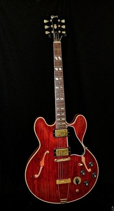 Vintage 1968 Gibson ES 345 Semi Hollow Body Stereo Electric Guitar OHSC