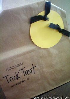 Trick or Treat party bags