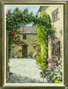 Gordon Breckenridge | Art Gallery in Tuscany | Outdoor painter | Original paintings, Giclée prints on paper, on canvas | San Gimignano | Tuscany