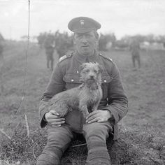 """""""Sammy"""", the mascot of the Northumberland Fusiliers in WWI, ca. 1915"""