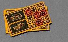 Brooklyn Taco's Taco Card by Tag Collective