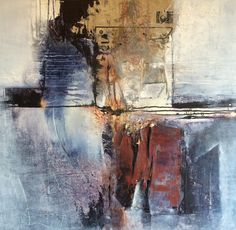 Artist: Yvonne van der Graaf: mixed media on canvas, 90x90 cm. My many facets are reflected in my objects. My work is mainly modern abstract. Abstract art has great depth and creates an imaginative space that encourages people to think.
