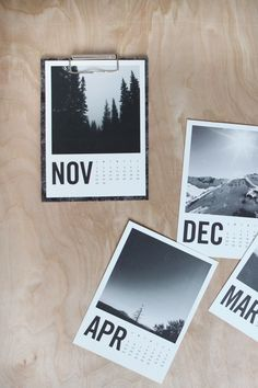 Holiday gifts, brightened | The Solidwool™ calendar by Artifact Uprising