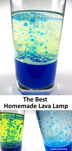 Find the best combination of oil to make the best homemade lava lamp. Isn't that fun?