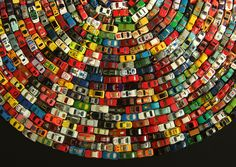 I'd love a print of this. I showed my 3 year old son and it made him want to make art with his cars.