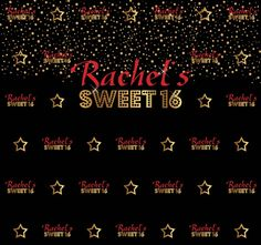 Sweet 16 Step and Repeat Sweet 16, Repeat, Backdrops, How To Memorize Things, Templates, Prints, Poster, Revenge, Stencils