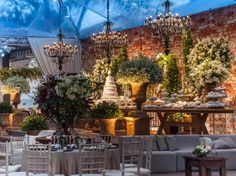 What a Dream!! Wedding Decor - Maira Chamon e Diego Martins - Flor & Cia