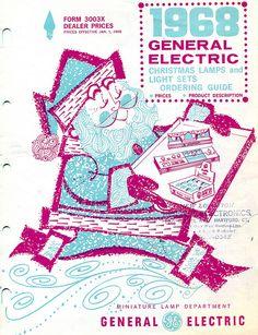 1968 GE Christmas Light Catalog