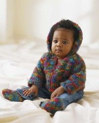 Easy Baby Hooded Jacket and Booties Knitting Pattern | HowStuffWorks