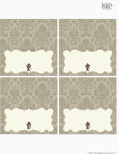 Check out this FREE Thanksgiving printables collection which includes: place cards, food tent cards, food labels/candy labels, straw/cupcake flags, and thank you tags. Printable Place Cards, Place Card Template, Free Printable Calendar, Printable Labels, Printable Paper, Party Printables, Card Templates, Free Printables, Food Labels