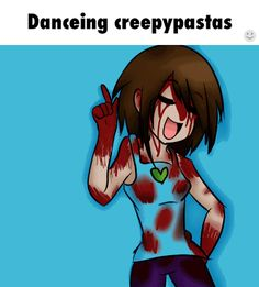 creepypasta | Tumblr ^^^ TOO MANY FLASHING COLORS ---- who is the girl in the blue??