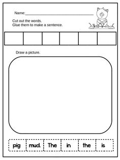 Get this and more for free at: blog.printableprompts.com http://www.teacherspayteachers.com/Product/MrsWishy-Washy-Activities-1574753