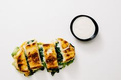 Green Grilled Cheese and Ranch Dippers