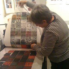 Victoria Cowan   Akua Printmaking Inks