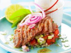 Découvrez la recette Ceviche de thon sur cuisineactuelle.fr.