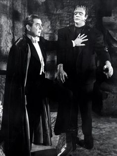 Boris Karloff, Frankenstein, Bela Lugosi, Dracula, film, horror, bitch please