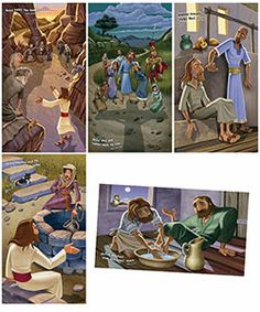 Weird Animals VBS Bible Story Posters