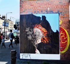 #ストリートアート  #ロンドン  #アート  #壁アート  #スタイル  #ロンドン写真  #美しいロンドン  #ロンドン大好き #ポスター #orcacollective