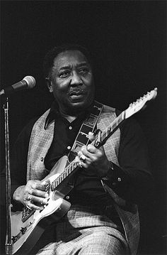 Muddy Waters greatest that ever said plug in the equipment that ever did recording.