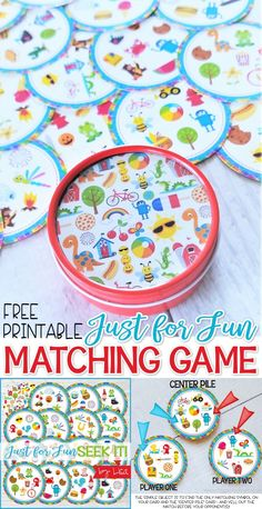 Diy christmas cards 128774870580550142 - FREE Printable Match Game – SEEK IT! Great party game, classroom party, gift idea and FAMILY GAME NIGHT! matching game, summer boredom buster Tips and tricks for printing included. Christmas Party Snacks, Adult Christmas Party, Christmas Party Outfits, Christmas Party Decorations, Christmas Crafts, Christmas Games, Kids Christmas, Printable Games For Kids, Card Games For Kids