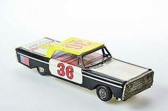 #Antique Tin Toy# Japan Kyowei Race Car Stock Race Nascar Old Japanese Bandai  $277.90Approx NOK2,315.25