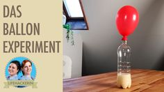 Ballon aufblasen ohne Puste    Ballon steigen lassen ohne Helium   Exper...