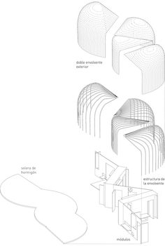 TAKK / suitcase house  emergency housing competition, honorable mention. Inspiration for the graphics for my shop/office project.