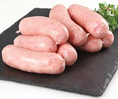 English Breakfast Sausage Recipe - Bangers Recipe : Learn how to make British bangers - Sausage Meat Recipes, Sausage Spices, Homemade Sausage Recipes, Baby Food Recipes, English Breakfast Sausage Recipe, Sausage Breakfast, English Pork Sausage Recipe, Breakfast And Brunch, Healthy Recipes