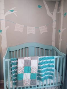 Jonas' Woodland Nursery. Baby boy.