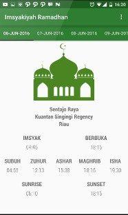 ramadhan 2017 waktu berbuka