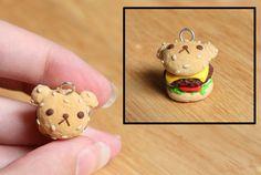 Cute clay bear sandwich  (fruitboss on tumblr)