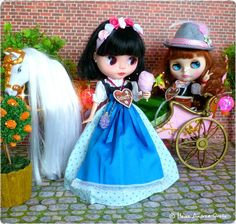 Magic Oktoberfest | Poppy and Dylan celebrate at the Oktoberfest | Flickr- Photo Sharing ❤️Welcome to my Blythe blog: http://www.heikeandreagrote.de/blythe.htm #blythe #blythedoll #blythecustom #heikeandreagrote #dolls #dollphotography #monchhichi #japan #doll #cute #kawaii #friends #fun #funny #pink #sweet #smile #art #cool #photo #pictureoftheday #photooftheday #bestoftheday #picoftheday #love #oktoberfest #dirndl #schatzi #spatzl