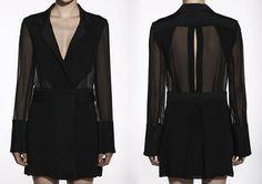 Dion Lee SS09/10 Sheer Blazer Dress