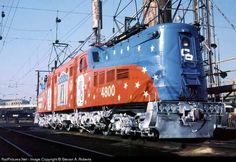 RailPictures.Net Photo: CR 4800 Conrail GG1 at Philadelphia, Pennsylvania by Stevan A. Roberts