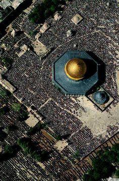Al aqsa mosque, sky view ♥
