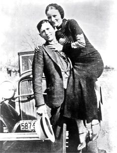 bonnie and clyde or David and sherry lol !