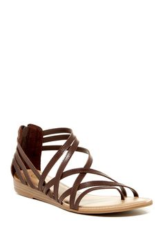 Amara Strappy Wedge Sandal by Carlos By Carlos Santana on @nordstrom_rack