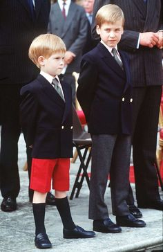 15 Sweet Photos Of William And Harry When They Were Little