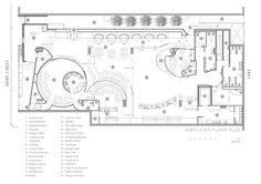 restaurant layout restaurant plan Image 16 of 20 from gallery of Bond Bar / HACHEM. Restaurant Layout, Restaurant Floor Plan, Restaurant Design, Cafe Floor Plan, Floor Plan Layout, Floor Plans, Bar Piscina, Piscina Hotel, The Plan