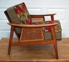 Mid-Century modern chair - used to have a chair like this - I could nap in it, oddly enough