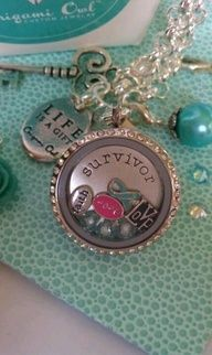Show a survivor just how amazing she is with this Origami Owl Living Locket.  Create yours today at http://www.rouce.origamiowl.com/  and visit facebook.com/locketsloveandhappiness for more inspiration.