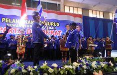 DPD Dewan Pengurus Daerah (DPD) Partai Demokrat Provinsi Papua periode 2017-2022 resmi dilantik oleh Sekertaris Jenderal (Sekjen) Dewan Pi...