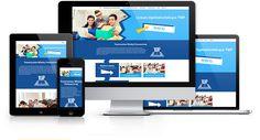Strona responsywna zaprojektowana i wykonana przez WiWi dla szkół Towarzystwa Wiedzy Powszechnej #responsive #design #webdesign #inspiration #Responsive #Web #layout