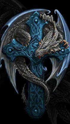Blue Cross dragon