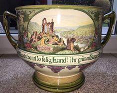Antik   Villeroy U0026 Boch Mettlach Bowle   Topf Von 1910 Nr. 3037 Ohne Deckel