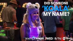 """Did someone 'Koala' my name?"" - Gabi 